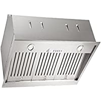XOI3315S XO Insert Range Hood for 36 cabinet or wood hood, 600 CFM, Premium Italian Quality, 15 Mantle Depth