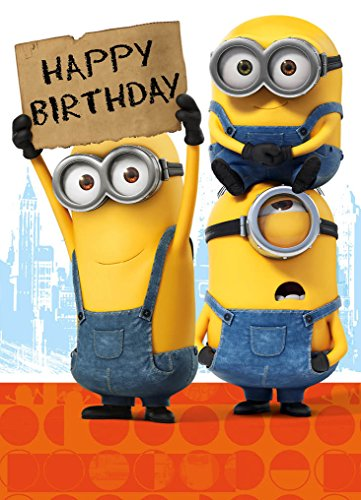 Amato Minions Movie MM021 - Biglietto di auguri: Amazon.it: Cancelleria  JW99