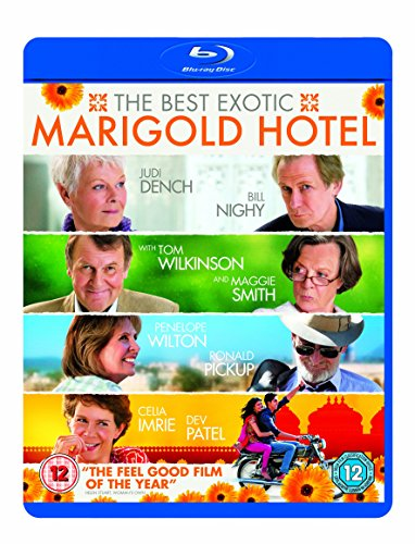 Best Exotic Marigold Hotel [Blu-ray] (The Best Exotic Marigold Hotel 2019)