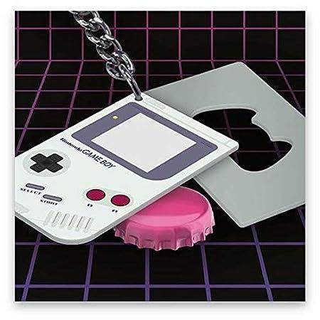 Paladone GIFPAL212 Llavero Abrebotellas Game Boy, Aluminio, 10x1x6 cm