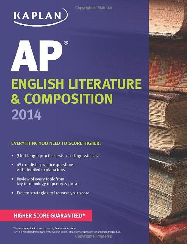 Kaplan AP English Literature & Composition 2014 (Kaplan Test Prep) -  Denise Pivarnik-Nova, Teacher's Edition, Paperback