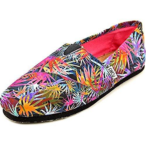 Price comparison product image Toms Women's Classic Black Multi Casual Shoe 8.5 Women US