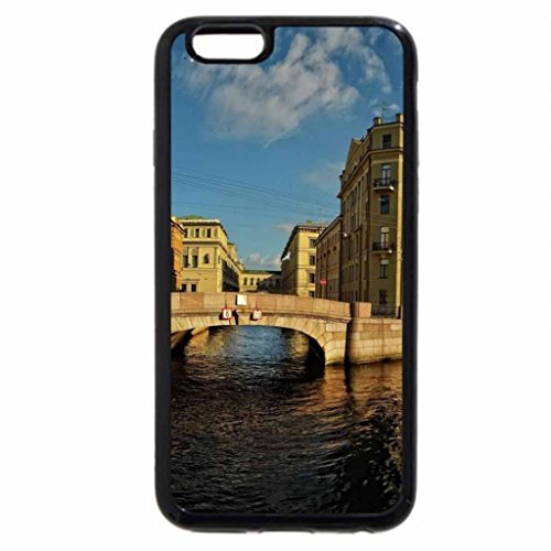iPhone 6S / iPhone 6 Case (Black) neva river in st. petersburg russia