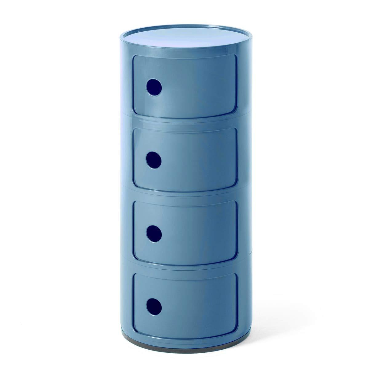Kartell 0498515 - Cajonera Modular de plástico ABS: Amazon ...