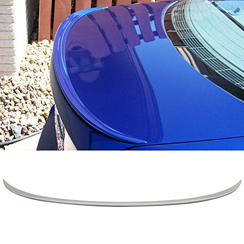 M3 Style #300 Alpine White III ABS Rear Wing IKON MOTORSPORTS Pre-painted Trunk Spoiler Compatible With 2005-2011 BMW E90