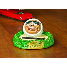 Hilarious Golf Expressions Collectible Character Figurines - Sculpted From Actual Golf Balls, Perfect for Father's Day or Give as Prizes for Company Golf Tournaments and Outings.