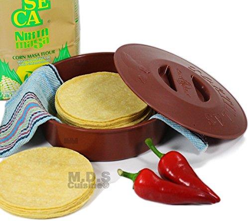 Tortilla Warmer Microwave Keeper Tortillas product image