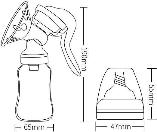 Gyratedream Handmilchpumpe Silikon Nippel Baby Milk Collector Comfort Einhand F/ür 0-12M