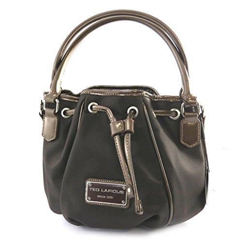 Bolsa bolsa de judas 'Ted Lapidus'marrón.