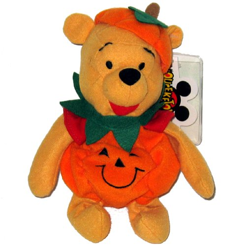 Disney Pumpkin Pooh Bean Bag by Halloween Plush