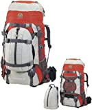 Alpinizmo High Peak USA Luna 55+10 Backpack, Red