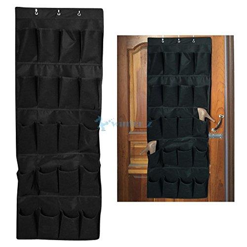 MIJORA-20 Pocket Over the Door Shoe Organizer Rack Hanging Storage Space Saver - M Canada Kors