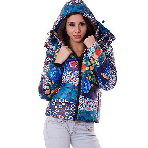 Toocool - Abrigo - para mujer turquesa