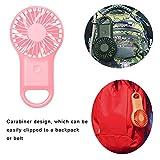 SAYTAY Mini Handheld Fan, Portable Rechargeable
