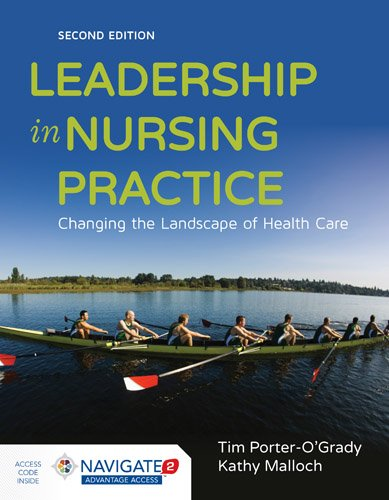 1284075907 - Leadership in Nursing Practice: Changing the Landscape of Health Care