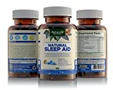 Natural Sleep Aid for Adults by Nature039s Wellness 60-Count 100 Herbal Remedy Sleeping Pills Safe amp Effective Natural Insomnia Relief Supplement Non-Habit Forming Blend Allows Deep Sleep amp Rest Discount