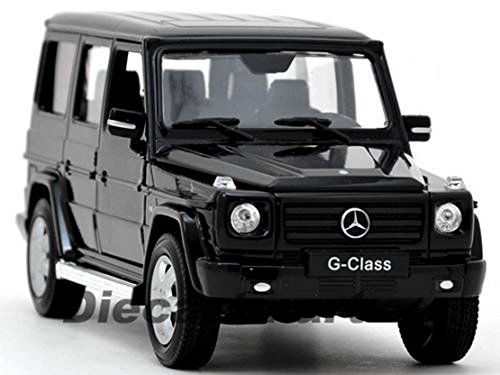 WELLY 1:24 2012 MERCEDES-BENZ G-CLASS G WAGON SUV NEW DIECAST MODEL CAR BLACK (Car Wagon Diecast Model)