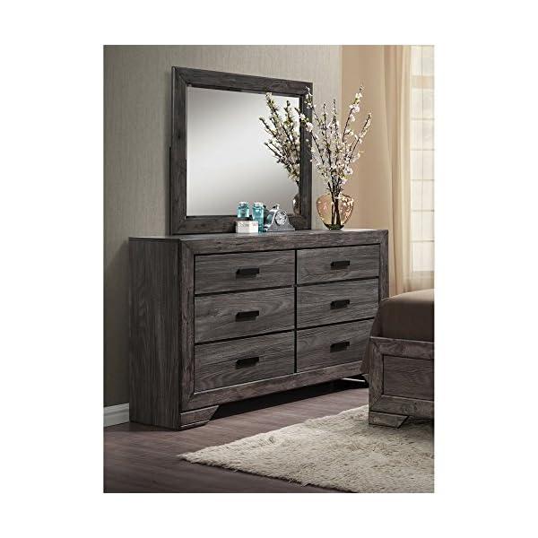Cambridge Drexel -Size Suite Bedroom Furniture Sets, King, Gray