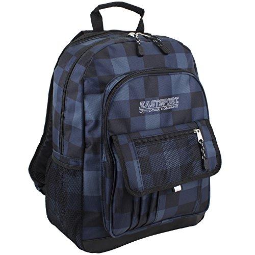 Eastsport Tech Backpack, Blue Plaid