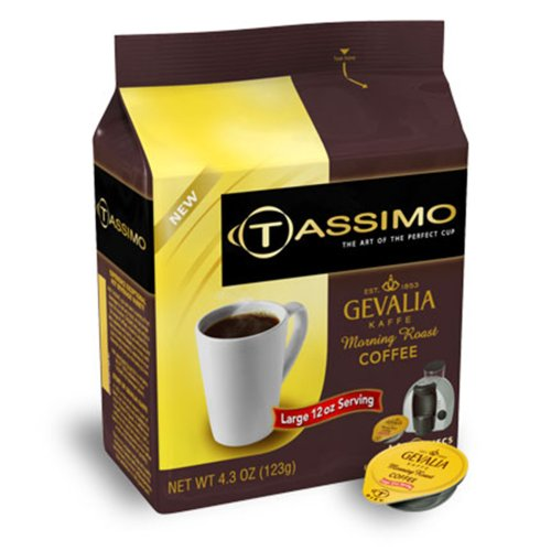 Gevalia Morning Roast Coffee Tassimo Discs 4.3 Oz Appliances for Home