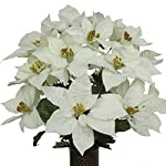 White-Poinsettia-Mix-Artificial-Bouquet-featuring-the-Stay-In-The-Vase-Designc-Flower-Holder-LG1041