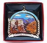 Grand Canyon Ornament Christmas Color Brass Souvenir Gift