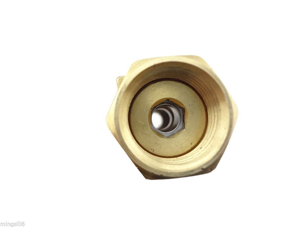 MISOL 1 pcs of Brass Flow Meter Balancing Valve flow sensor