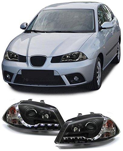Carparts-Online 13578 Scheinwerfer LED Tagfahrlicht Optik schwarz