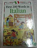 First Two Hundred Words in Italian, Paola Tite, 1856979563
