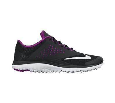 low price d3553 a2047 Nike Women's WMNS Fs Lite Run 2 Black, Fuchsia Pink and ...