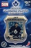 2006 Toronto Maple Leafs Legends Plaque Collection 5 Jay Harrison Mint