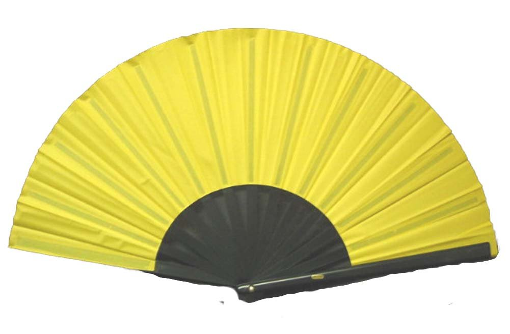 Yellow Performance Folding Fan #370