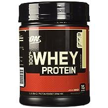 Optimum Nutrition 100-Percent Whey Protein Vanilla 1lb, 404 Grams