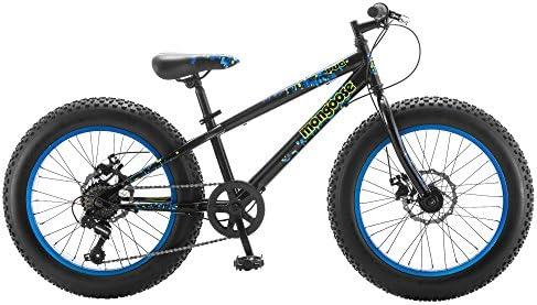 Mongoose Pug - Bicicleta de neumáticos para niño de 20 Pulgadas ...