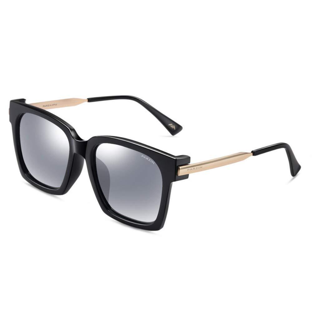 Polarized Sunglasses Men And Women Fashion Cool Big Box Trends Sunglasses Driving Driver Driver Mirror Black Frame