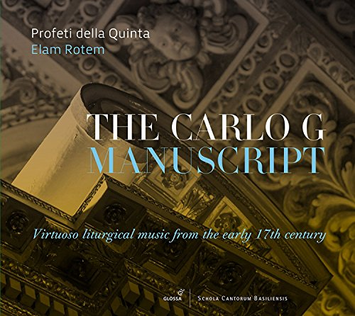 The Carlo G Manuscript - Virtuoso Liturgical Music for sale  Delivered anywhere in Canada