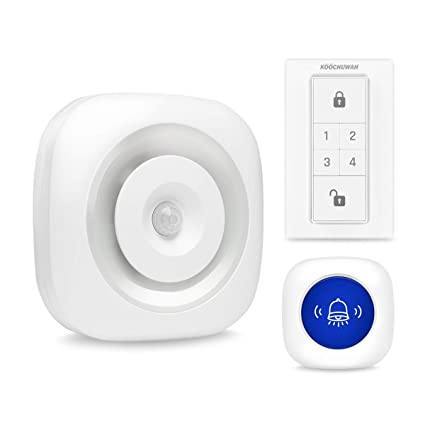 Kit de Alarma de Seguridad Personal, Timbre inalámbrico ...