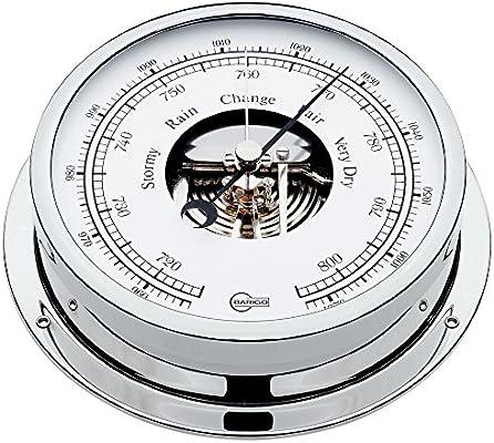 Barigo Regatta Barometer//Thermometer chrome
