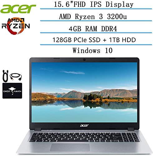 2020 Newest Acer Aspire 5 Slim Laptop 15.6 FHD IPS Display, AMD Ryzen 3 3200u-Dual Core (up to 3.5GHz), Vega 3 Graphics…