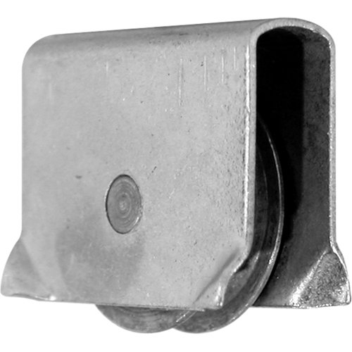 Prime-Line Products G 3035 Showcase Window Roller Assembly with 9/16-Inch Concave Steel Wheel,(Pack of 2) ()