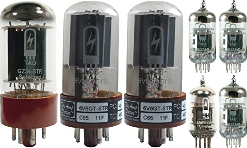 Tube Complement for Fender 65 Princeton Reverb Reissue, Tube Amp Doctor brand tu
