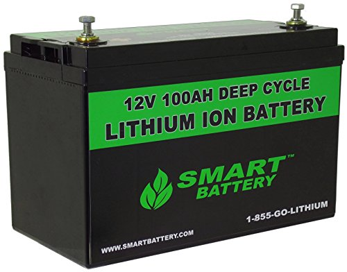 SMART BATTERY® 12V 100AH Lithium Ion Battery - Import It All