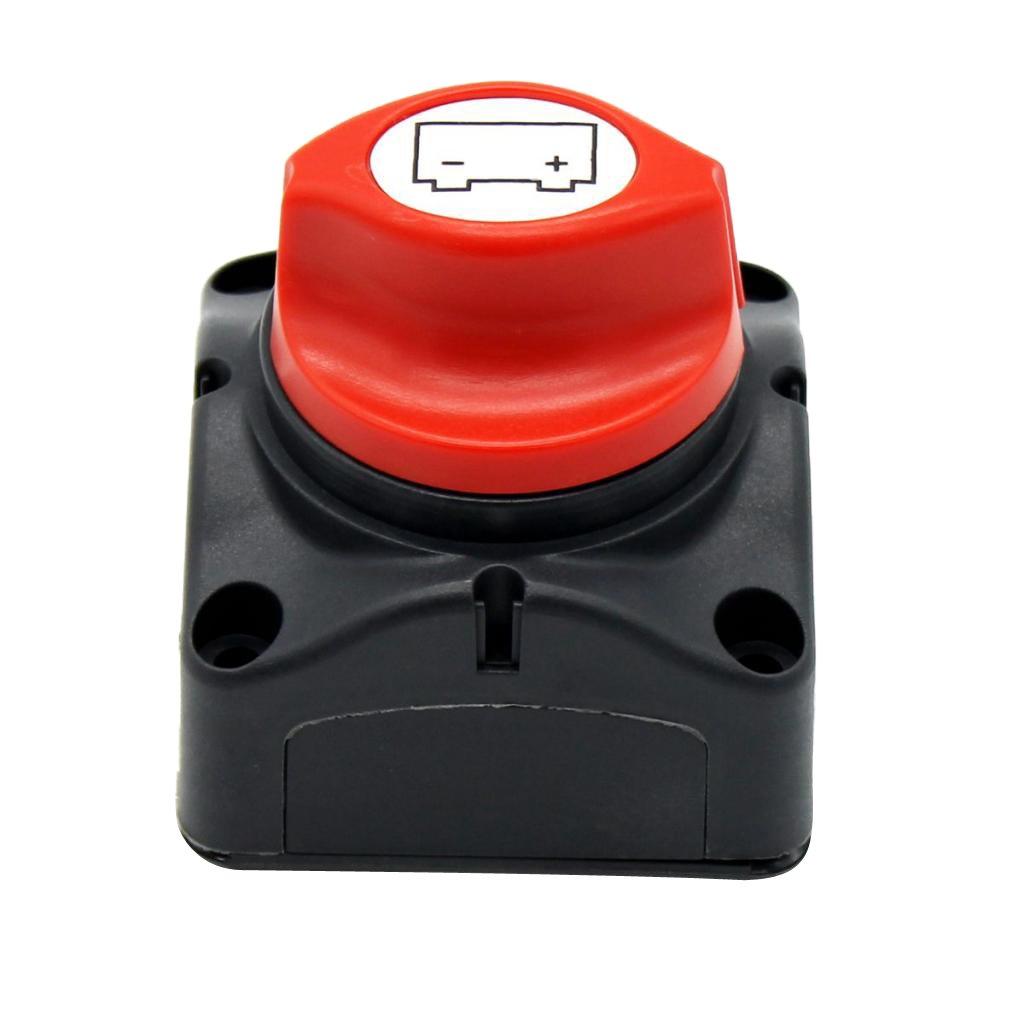 Homyl Car RV Battery Knob Circuit Master Switch Control Disconnect Isolator On/Off 9c9a05c1b21140f27fa2fb9e81e261da