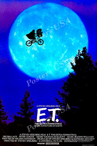 Posters USA - E.T. Movie Poster GLOSSY FINISH - MOV442 )