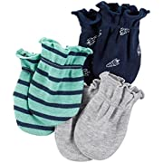 Carter's Baby Boys Mitts 126g555, Navy, 0-3 Months Baby