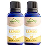 Woolzies 100% Pure Lemon Essential Oil, Therapeutic grade 2pack