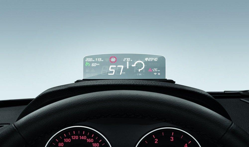 Original BMW Head-Up Screen Display