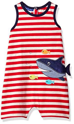 - Bonnie Baby Baby Boys Coveralls and Short Sets, red shark, 2T