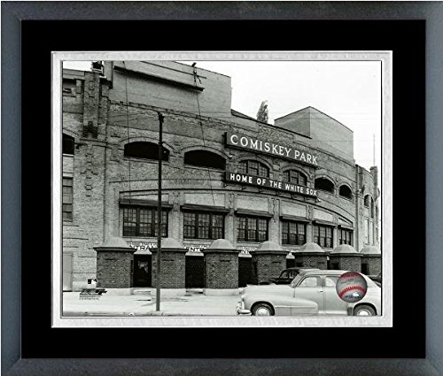 Chicago White Sox Comiskey Park MLB Stadium Photo (Size: 26.5