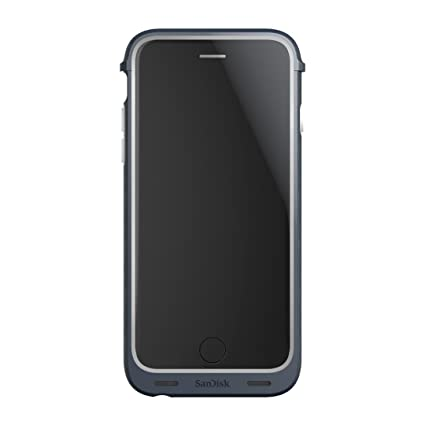 SanDisk iXpand 32GB Memory Case for iPhone 6 6s - Retail Packaging - Grey d8850b28aaf